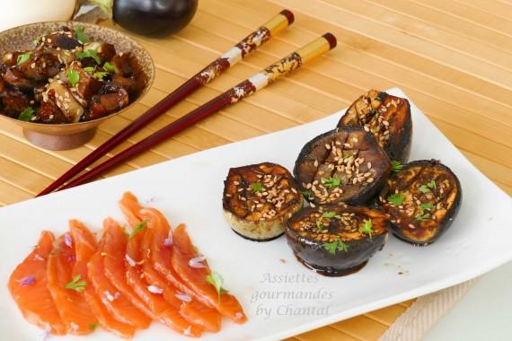 aubergines miso 1