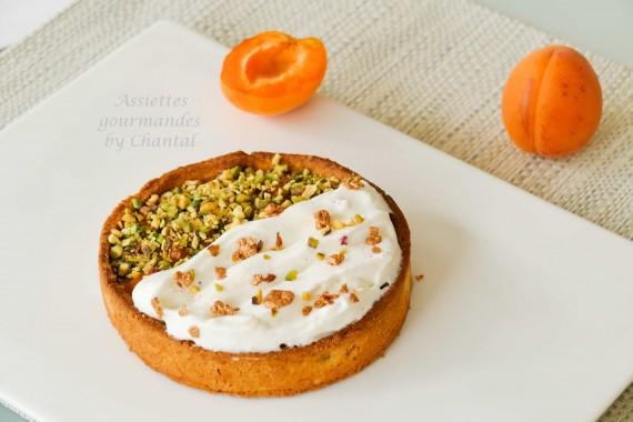 tarte abricot caramel 3