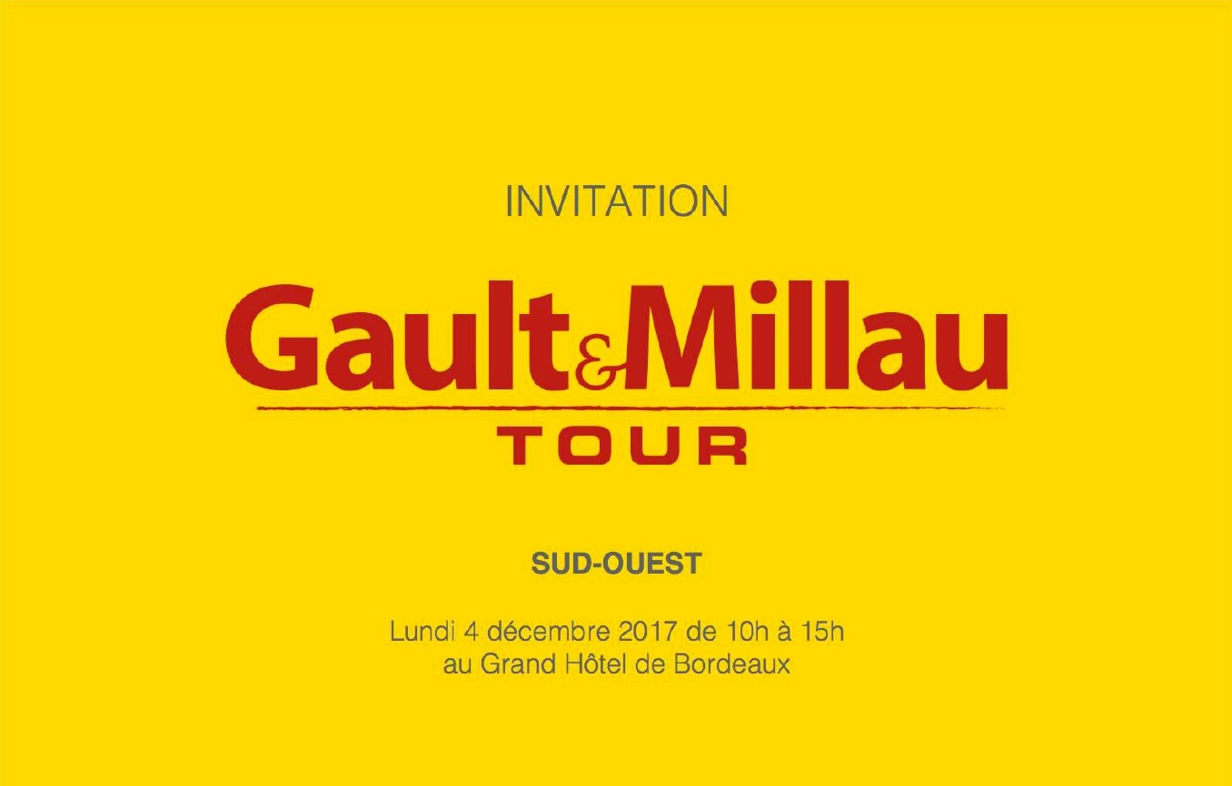 Gault & Millau Tour, à Bordeaux
