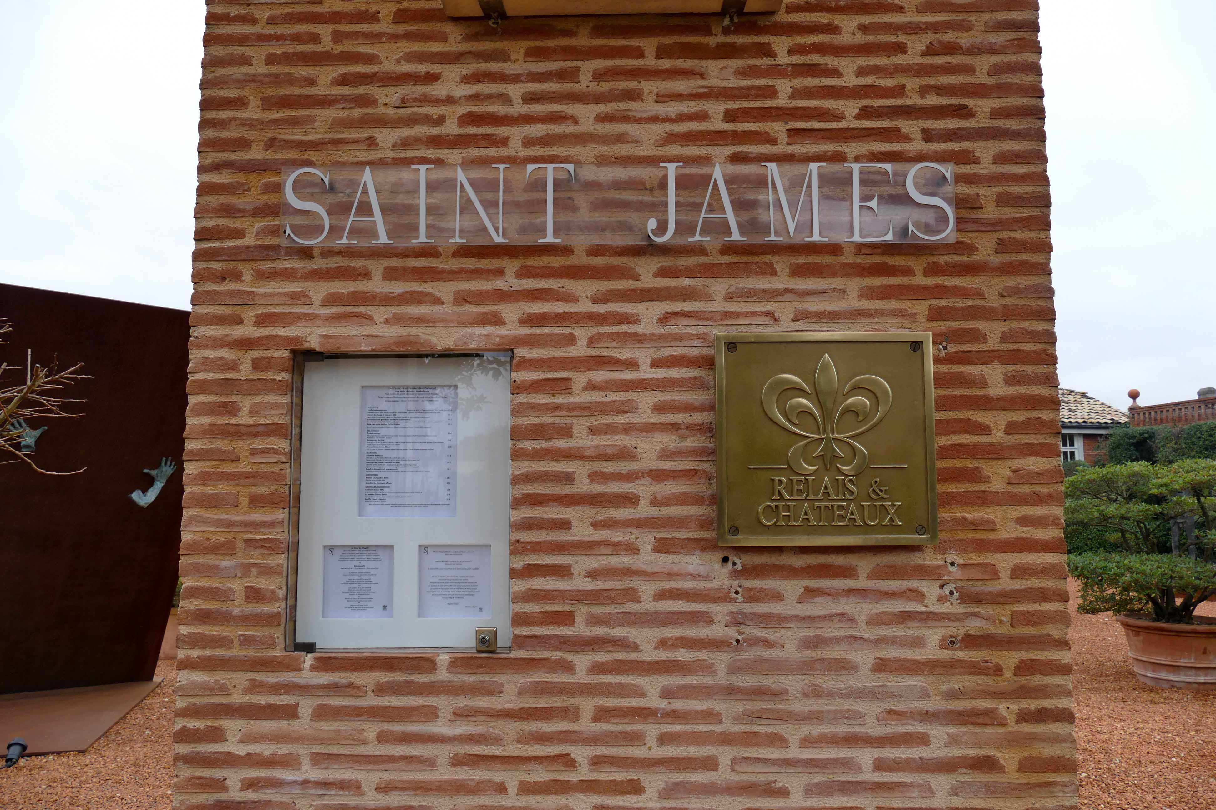 Déjeuner au Saint-James à Bouliac - Nicolas Magie