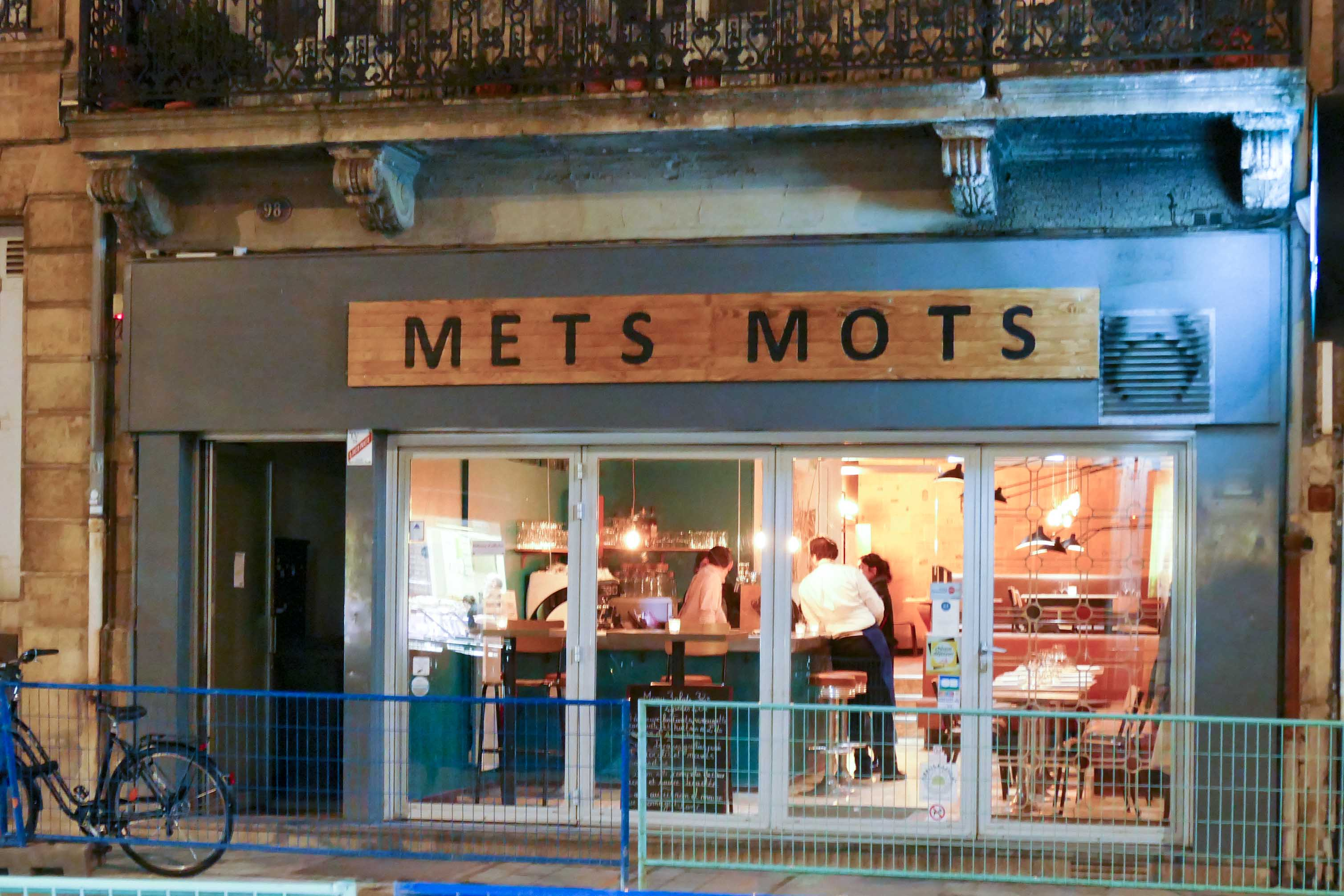Restaurant Mets Mots - Léo Forget