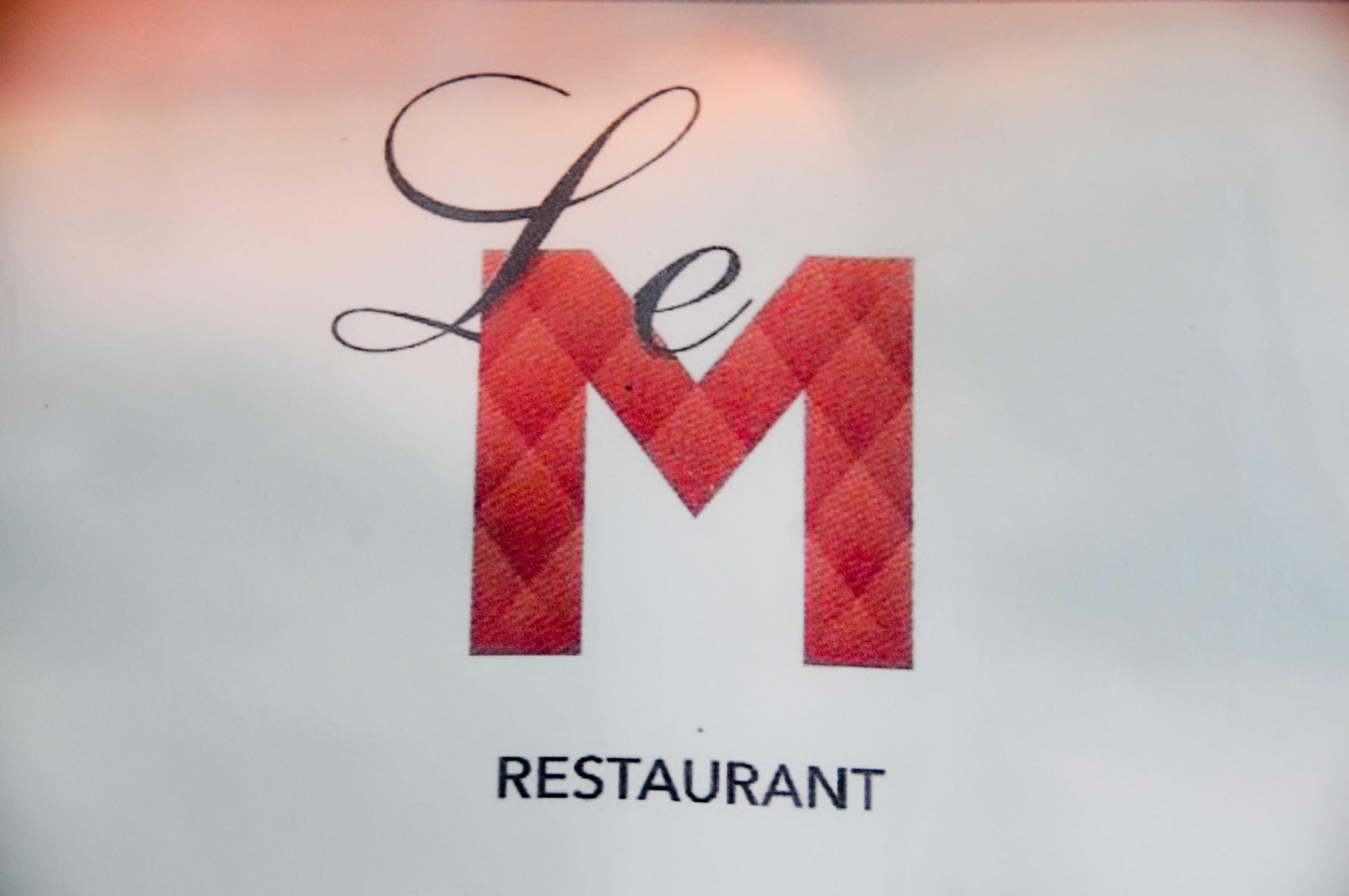 Nouveau dîner au Restaurant le M à Bordeaux