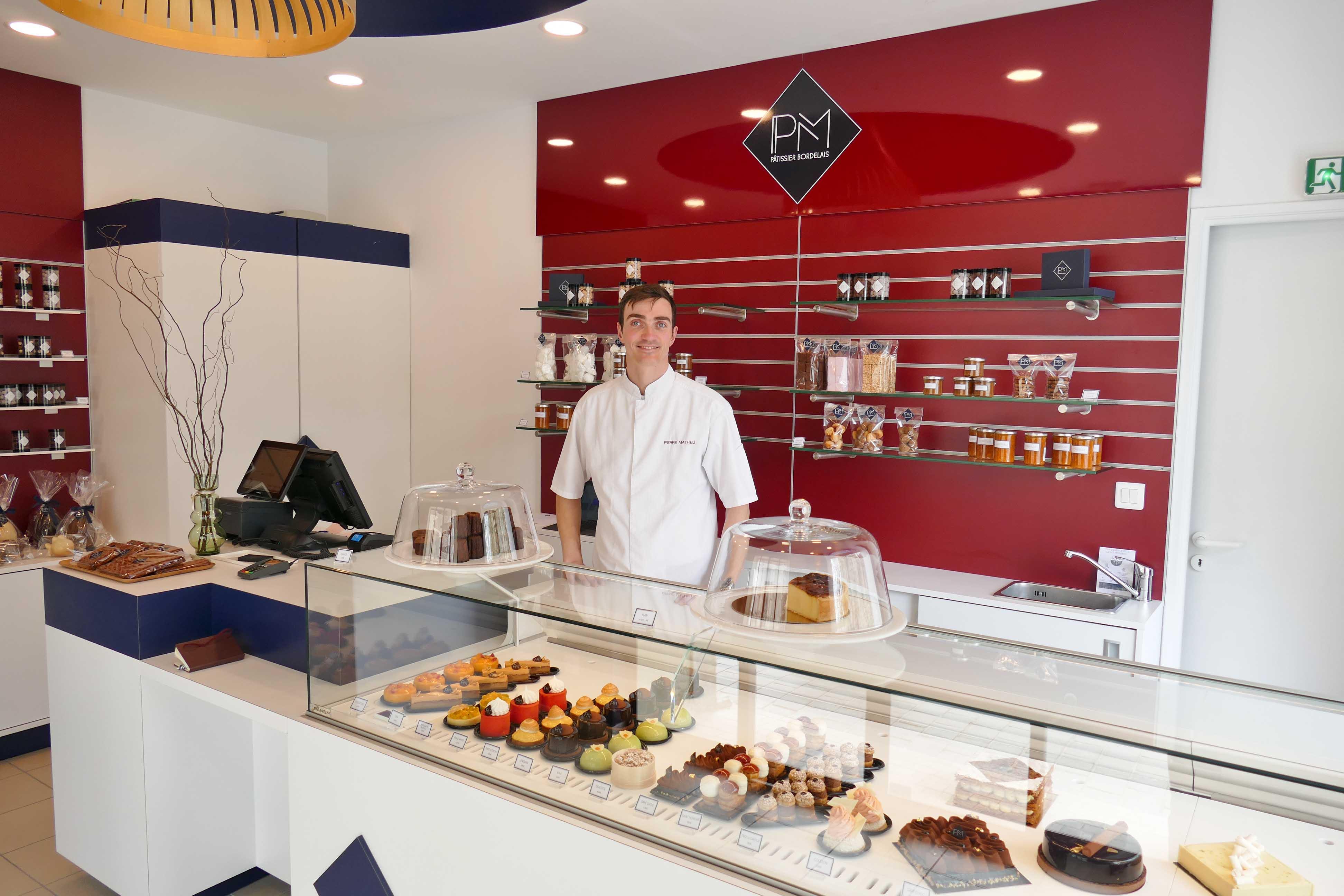Pierre Mathieu Pâtisserie, la nouvelle Pâtisserie qui