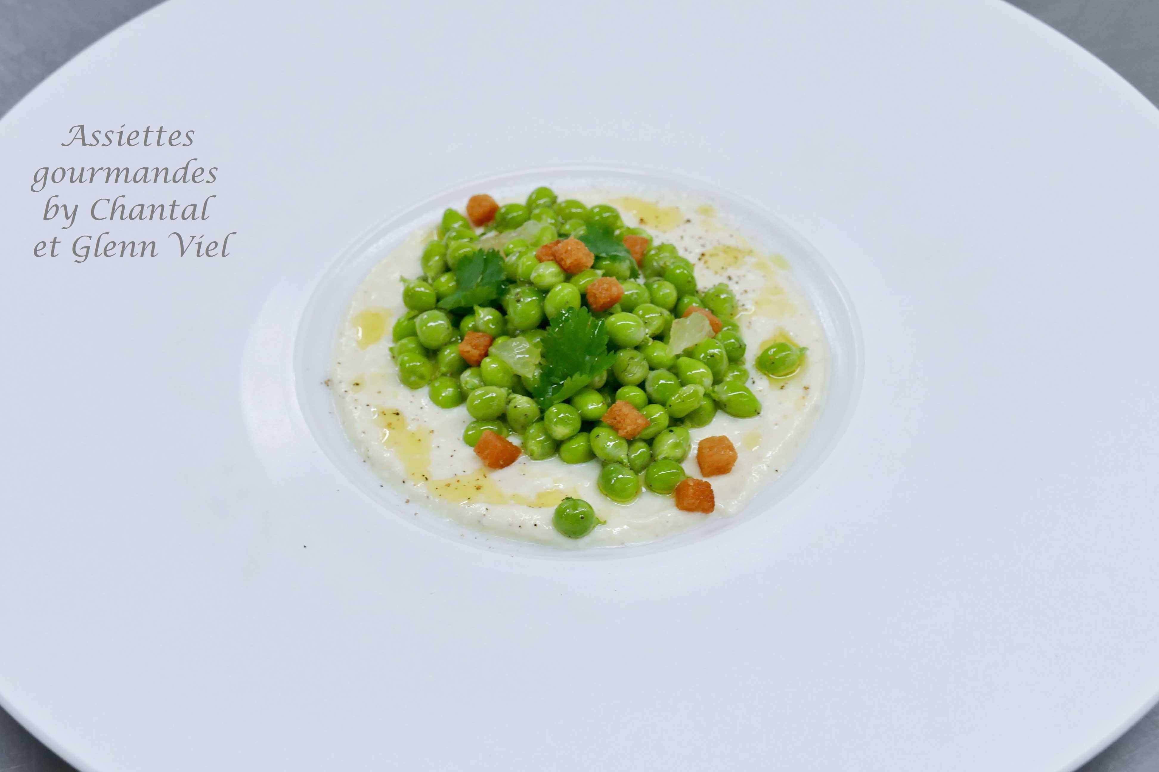 Petits pois tout frais vus par Glenn Viel - Recette dans les cuisines des Chefs