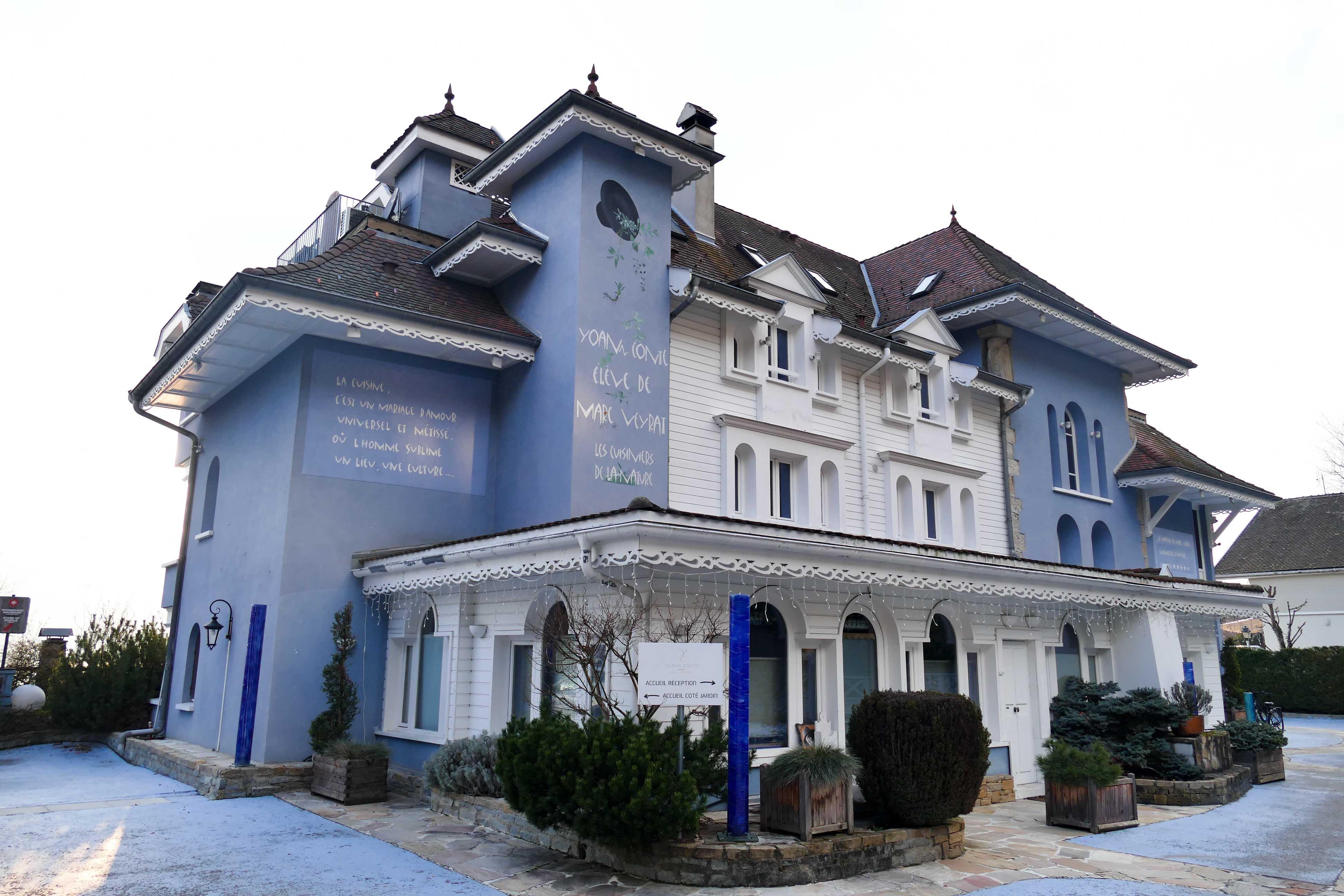 restaurant la maison bleue annecy ventana blog. Black Bedroom Furniture Sets. Home Design Ideas