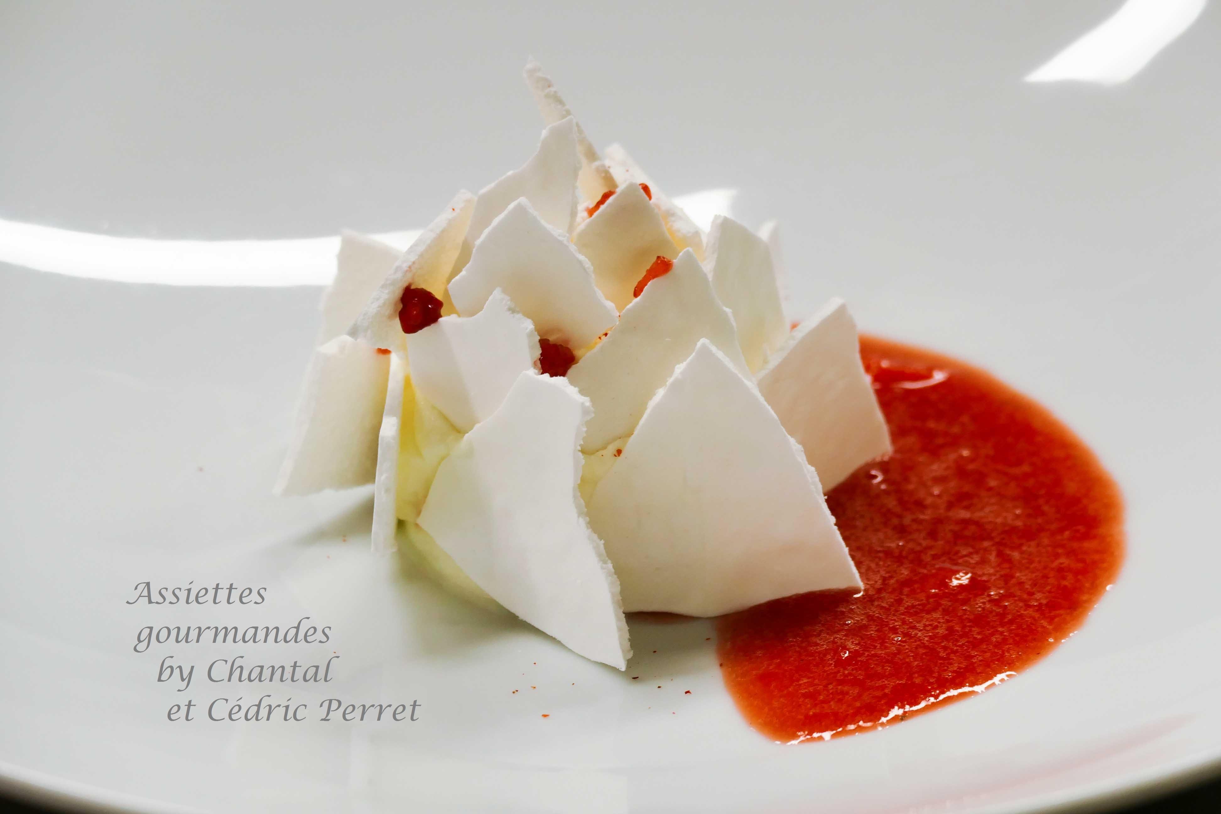 Vacherin aux fraises - Recette de Cédric Perret