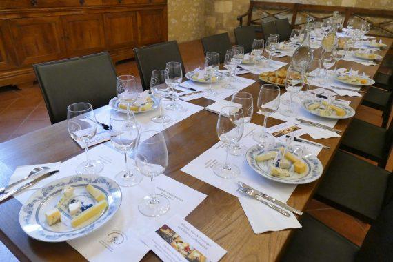 Atelier fromages et vins Château Carbonnieux