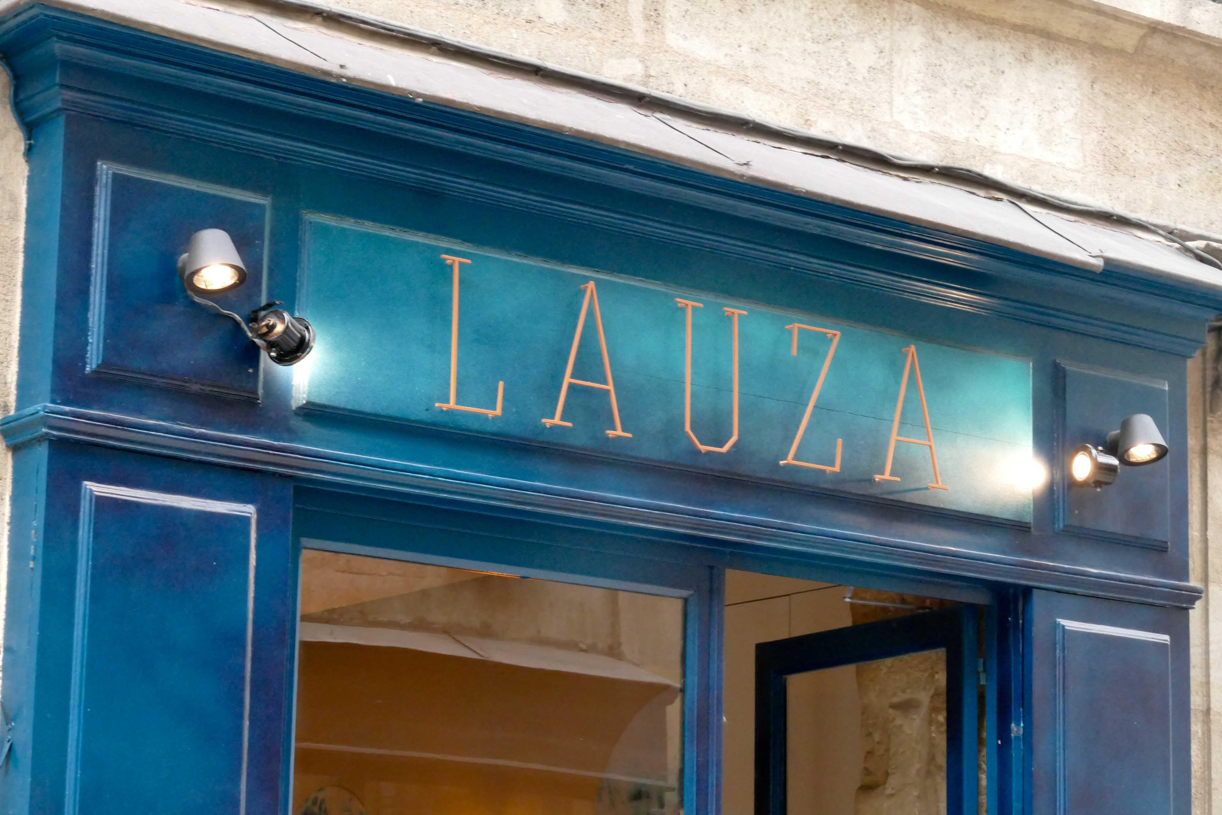 Dîner au Restaurant LAUZA à Bordeaux