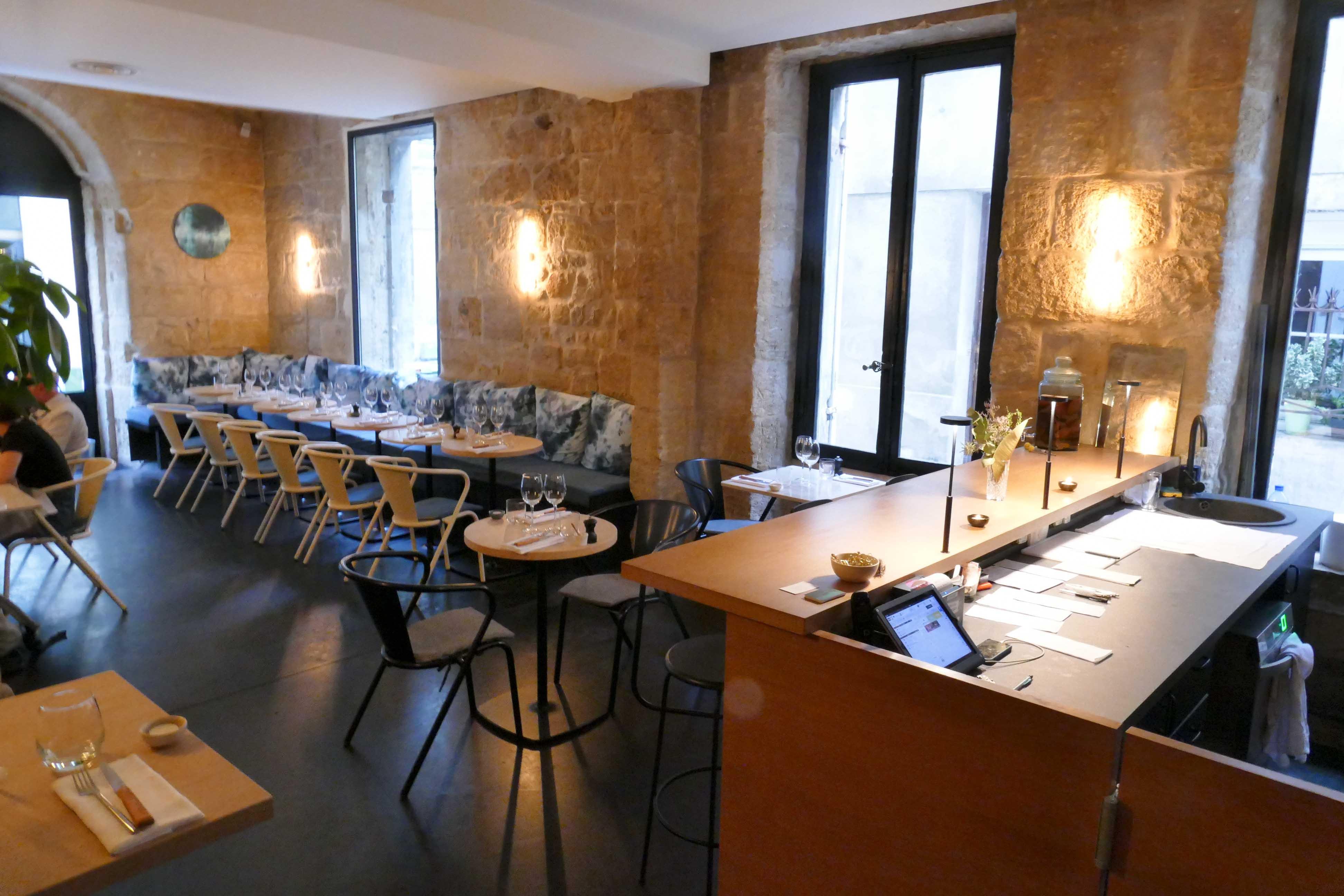 Dîner Au Restaurant Lauza à Bordeaux Assiettes Gourmandes