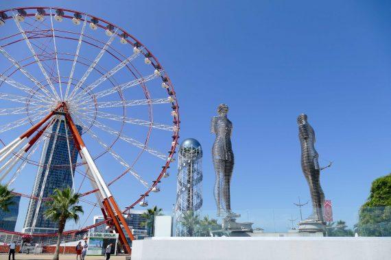 Statue Ali et Nino