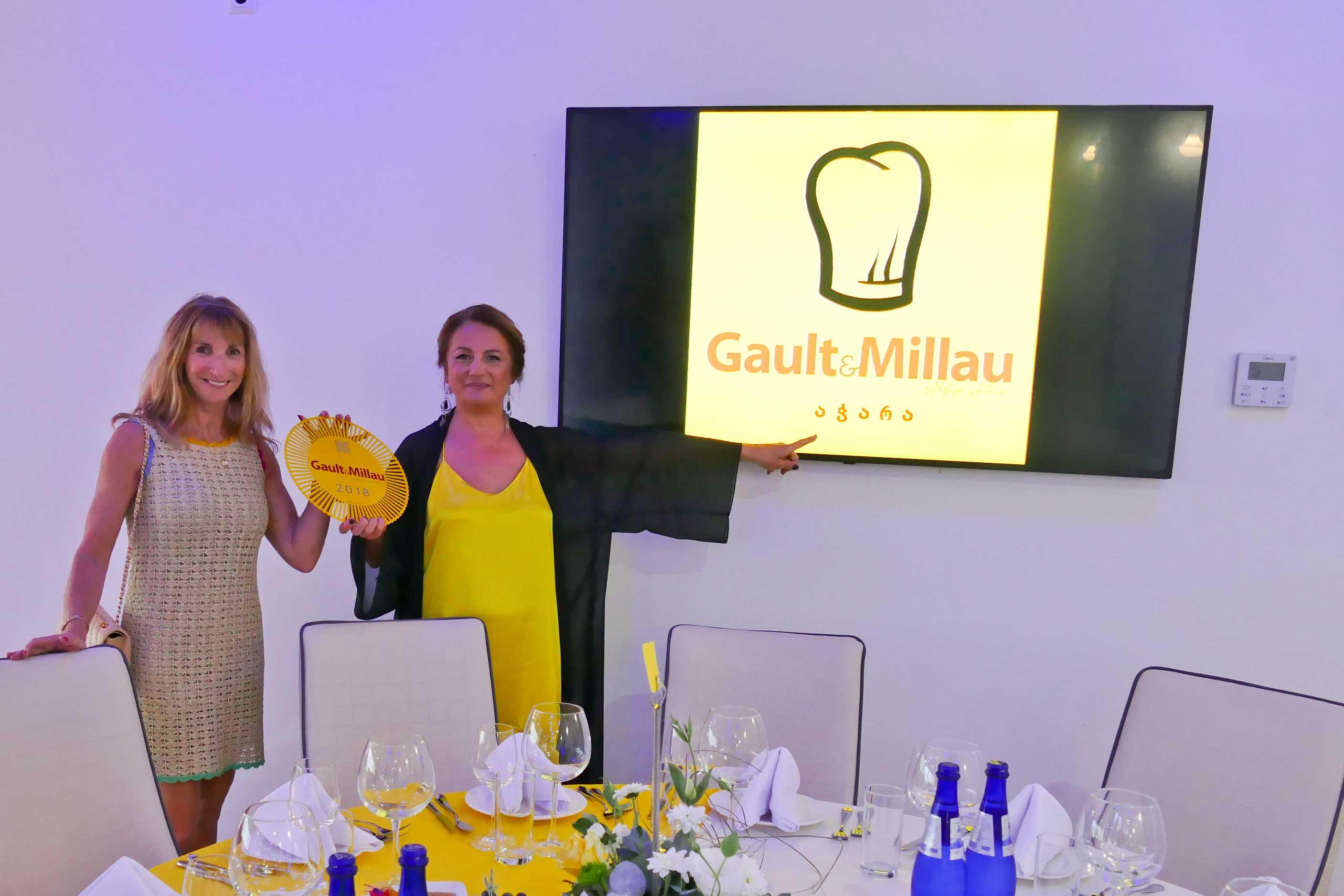 Nouvel événement Gault & Millau en Géorgie... destination Batoumi