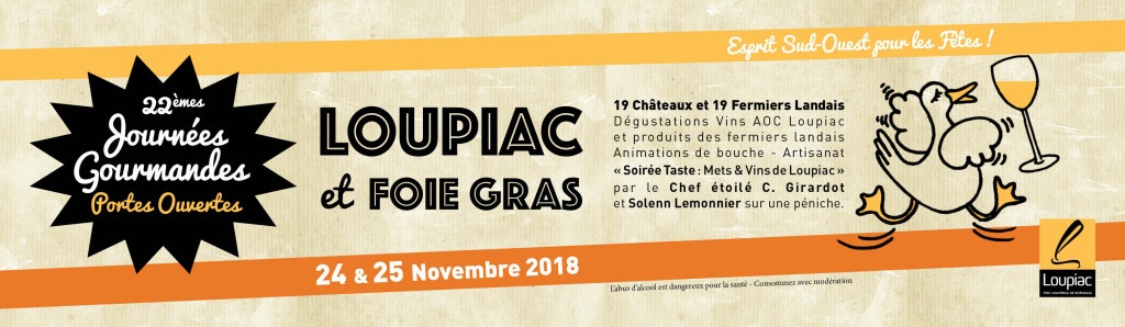 Loupiac et foie gras