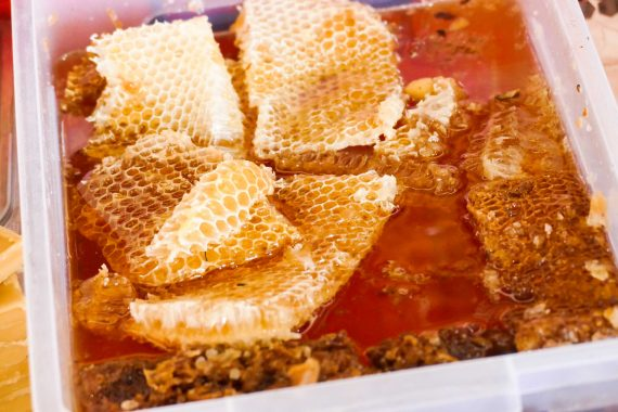 miel de Géorgie