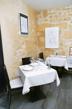Restaurant l' Huitrier Pie Saint Emilion