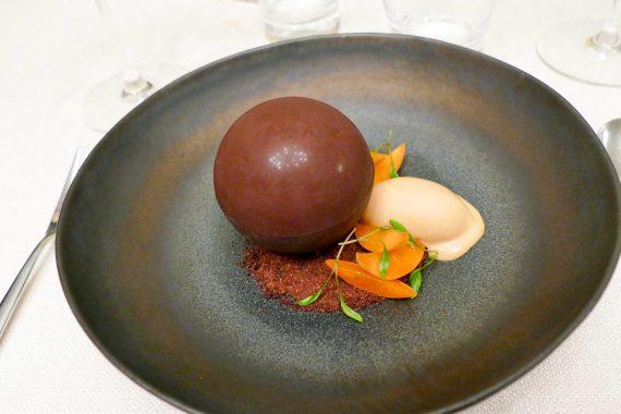 dessert chocolat l'Huitrier Pie