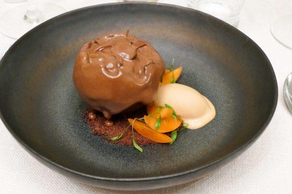 Dessert chocolat - l' Huitrier Pie