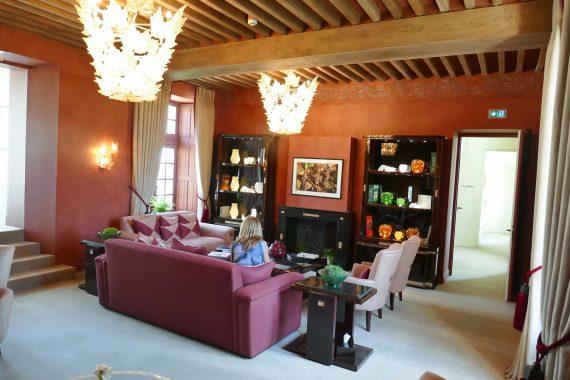 Bibliothèque Château Lafaurie Peyraguey