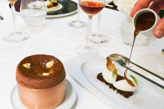 dessert soufflé chocolat