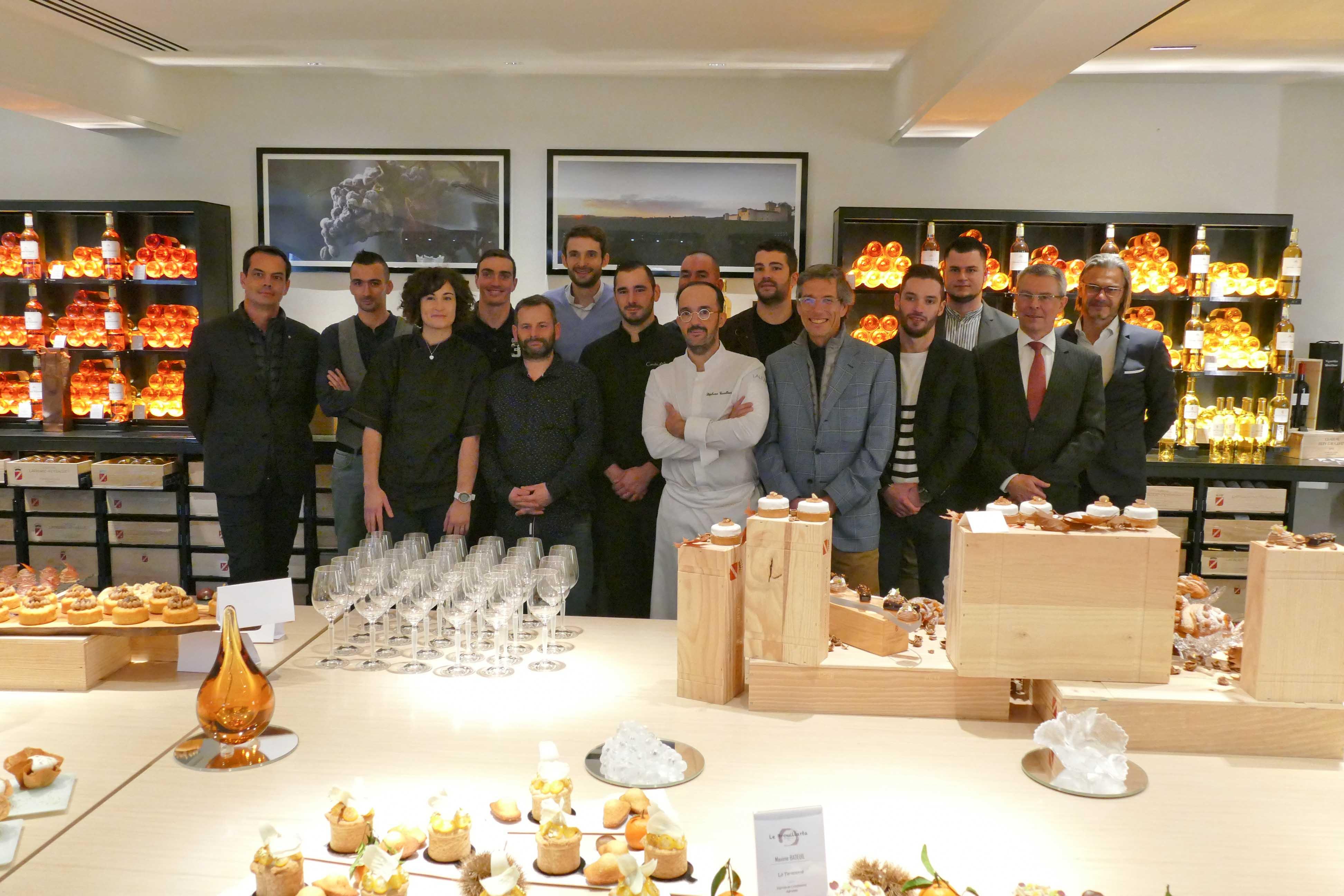 Les Chefs Pâtissiers des Glukosés s'éclatent autour du marron au Château Lafaurie-Peyraguey