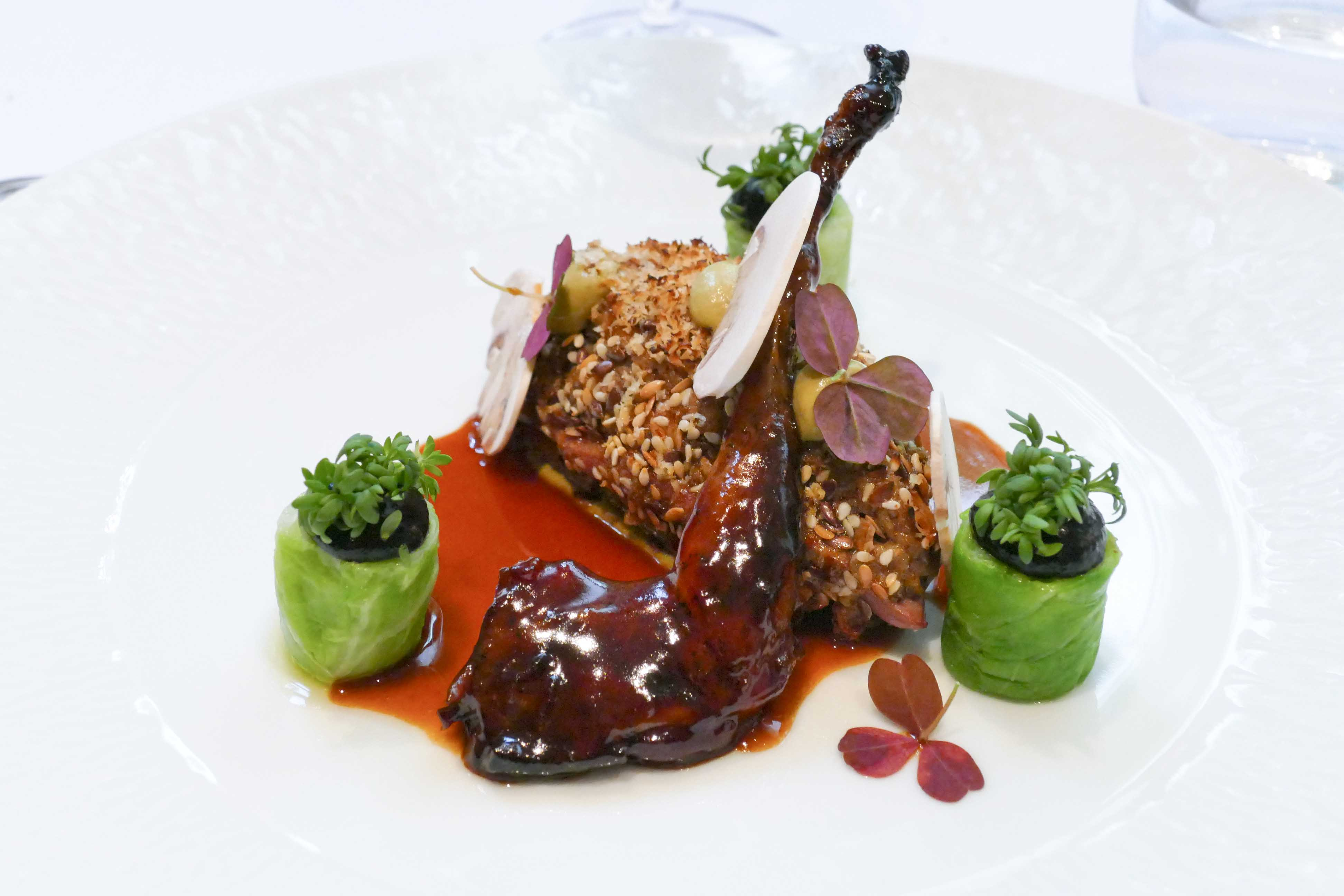 Déjeuner au Taillevent - David Bizet