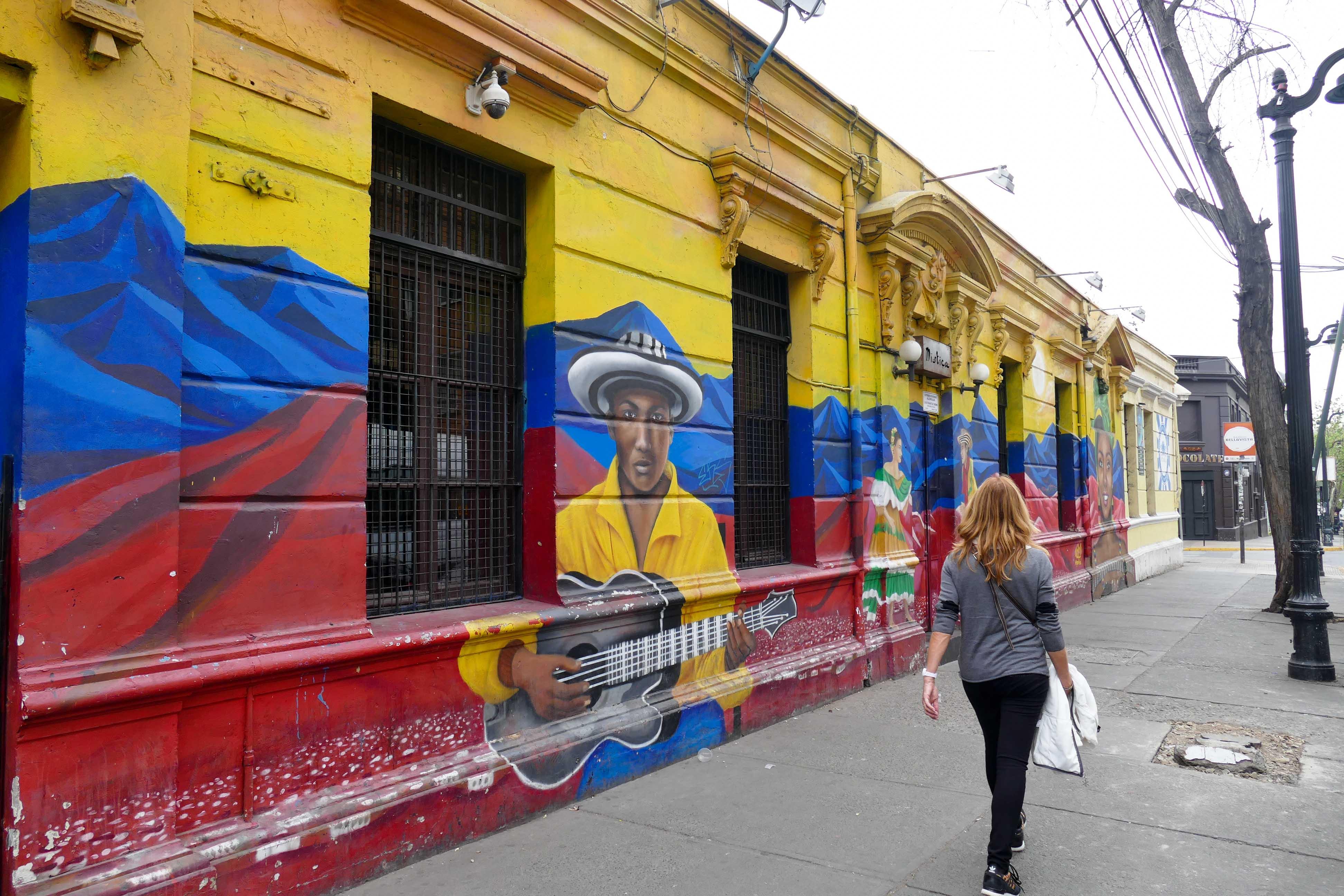 Voyage au Chili - Santiago du Chili au pied de la Cordillère des Andes