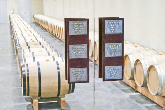 Tonneaux vignoble Lafaurie Peyraguey