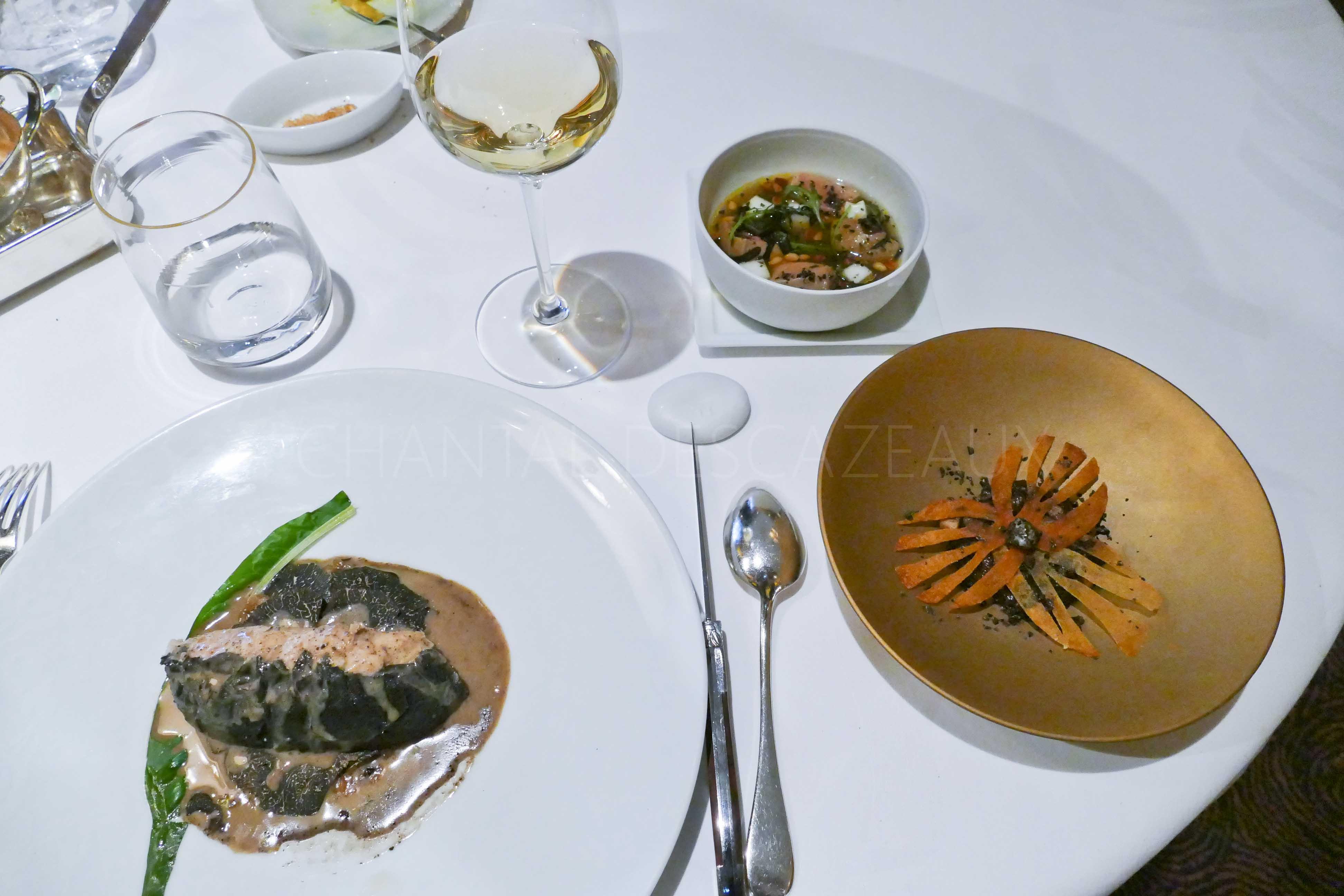 Nouveau déjeuner chez Pierre Gagnaire à Paris