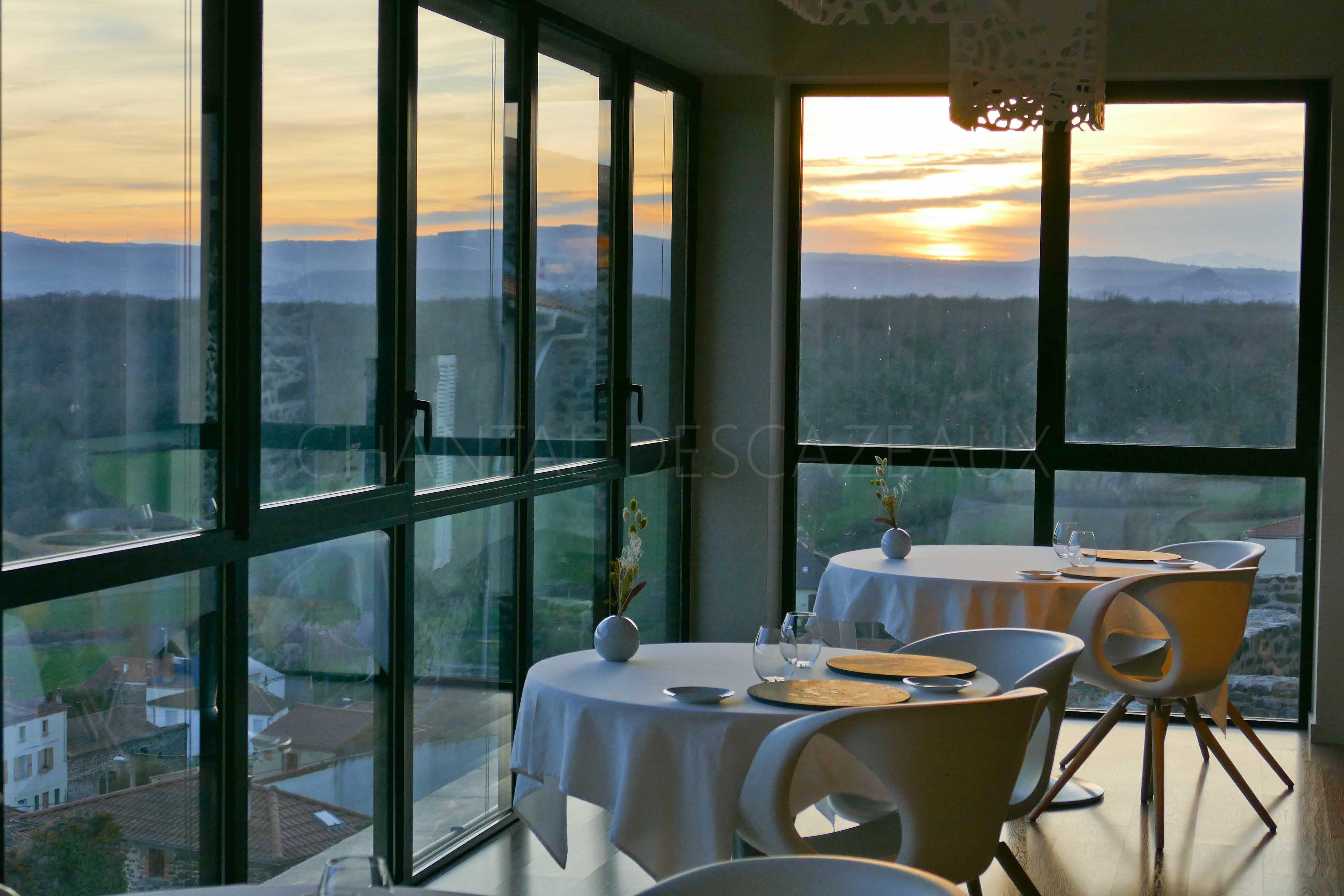 Restaurant Origines pour une magnifique étape en Auvergne