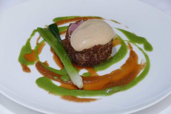 veau restaurant Origines Le Broc