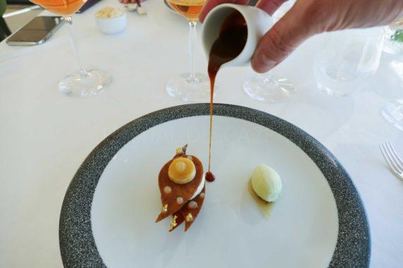 Dessert de Stéphane Corolleur - restaurant Lalique