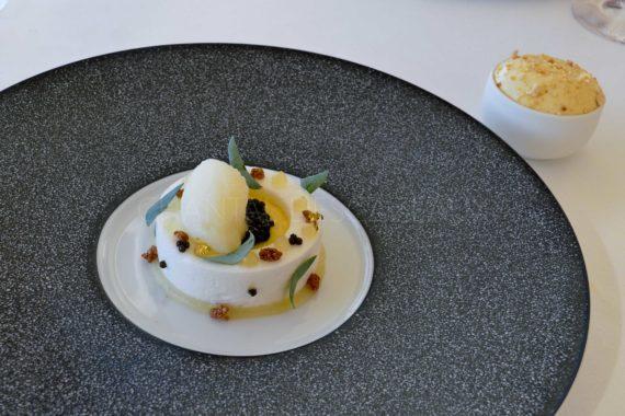 Dessert de Stéphane Corolleur - Citron caviar