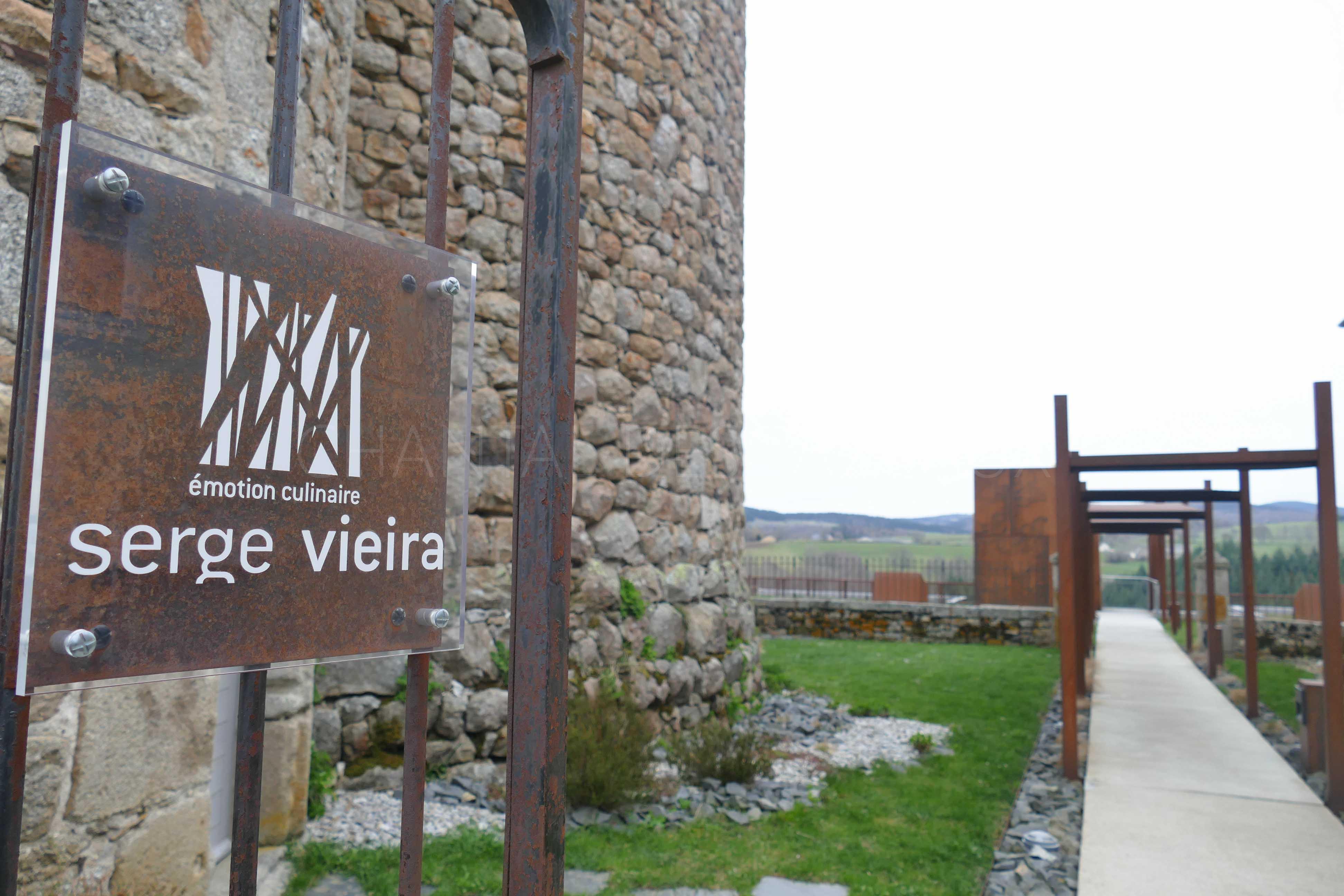 Dîner chez Serge Vieira à Chaudes Aigues [Cantal]