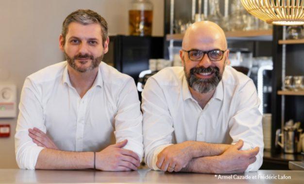 Armel Cazade et Frédéric Lafon Coté Zinc