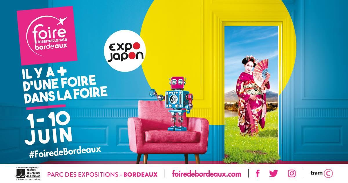 Gagnez des places pour la Foire Internationale de Bordeaux