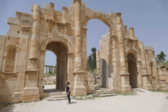 jerash jordanie