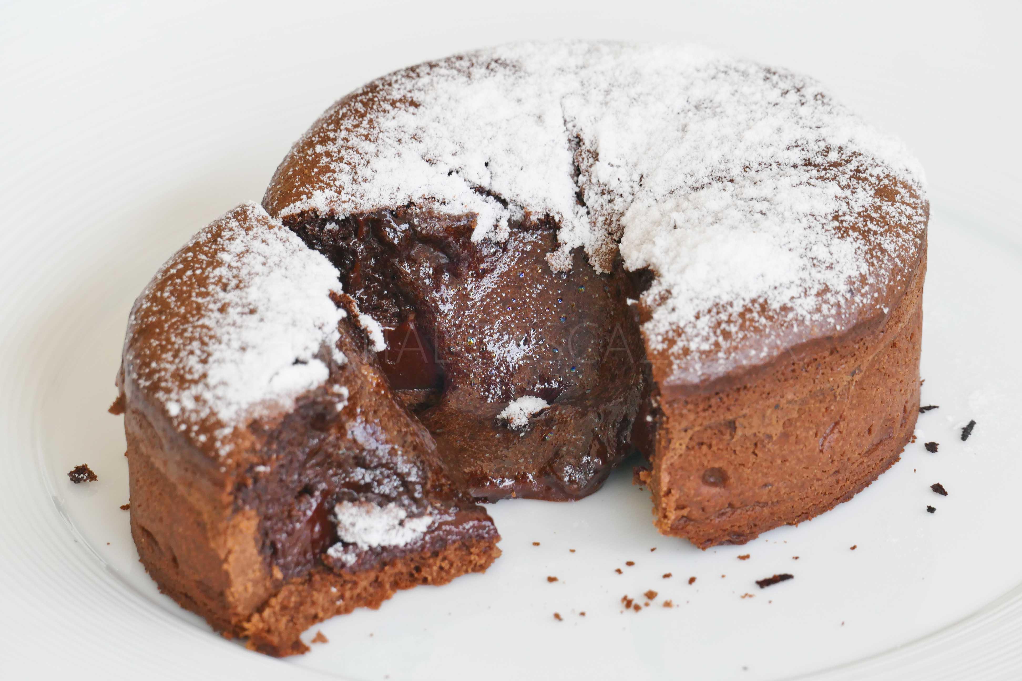 Tarte soufflée au chocolat de Cédric Grolet
