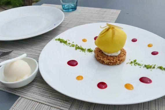 Dessert restaurant de la Plage - Cap d'Antibes
