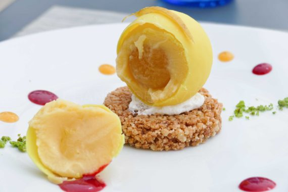 Restaurant de la Plage - dessert - Cap d Antibes Beach Hotel