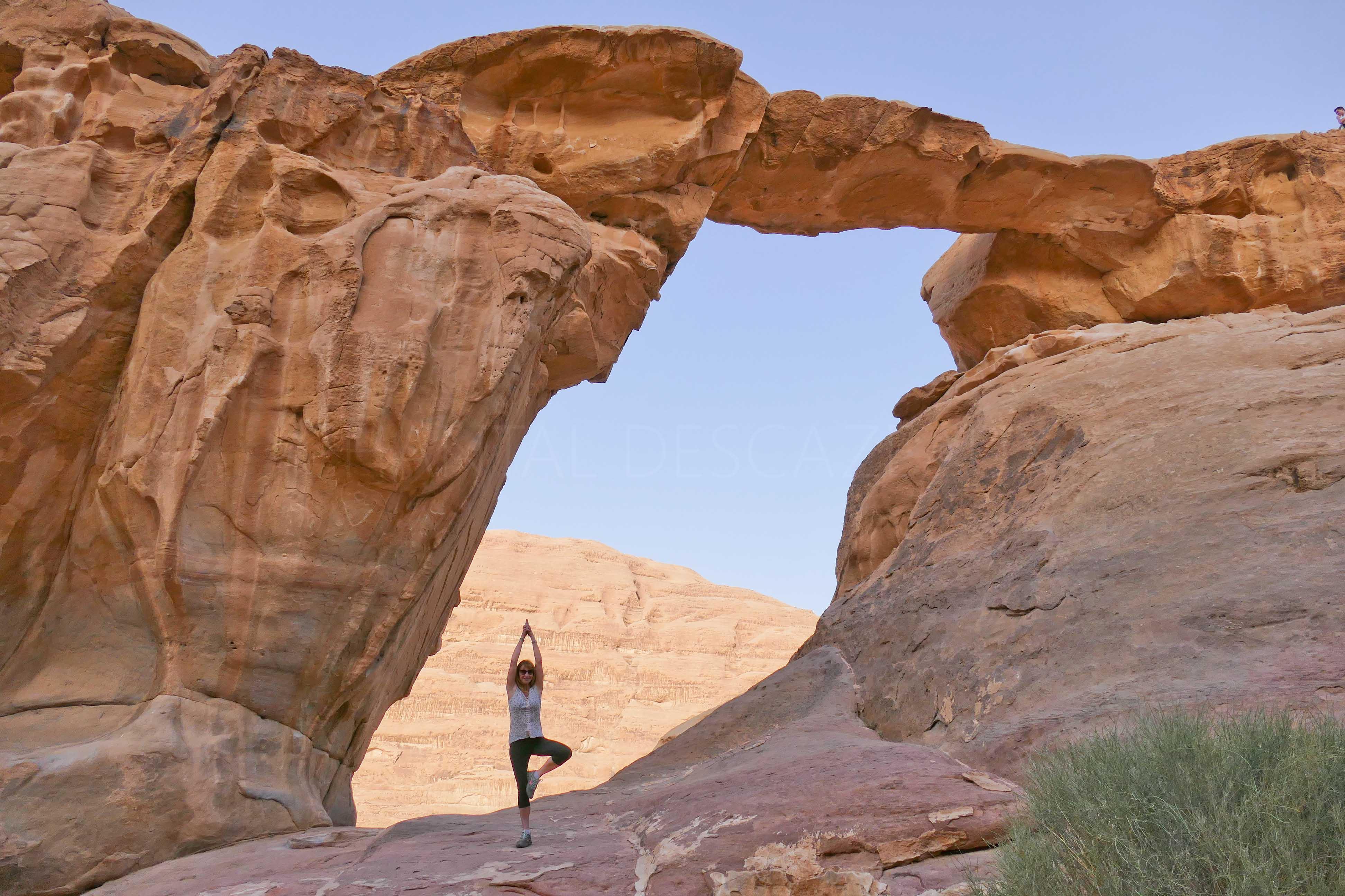 Wadi Rum - Nouvelle étape en Jordanie