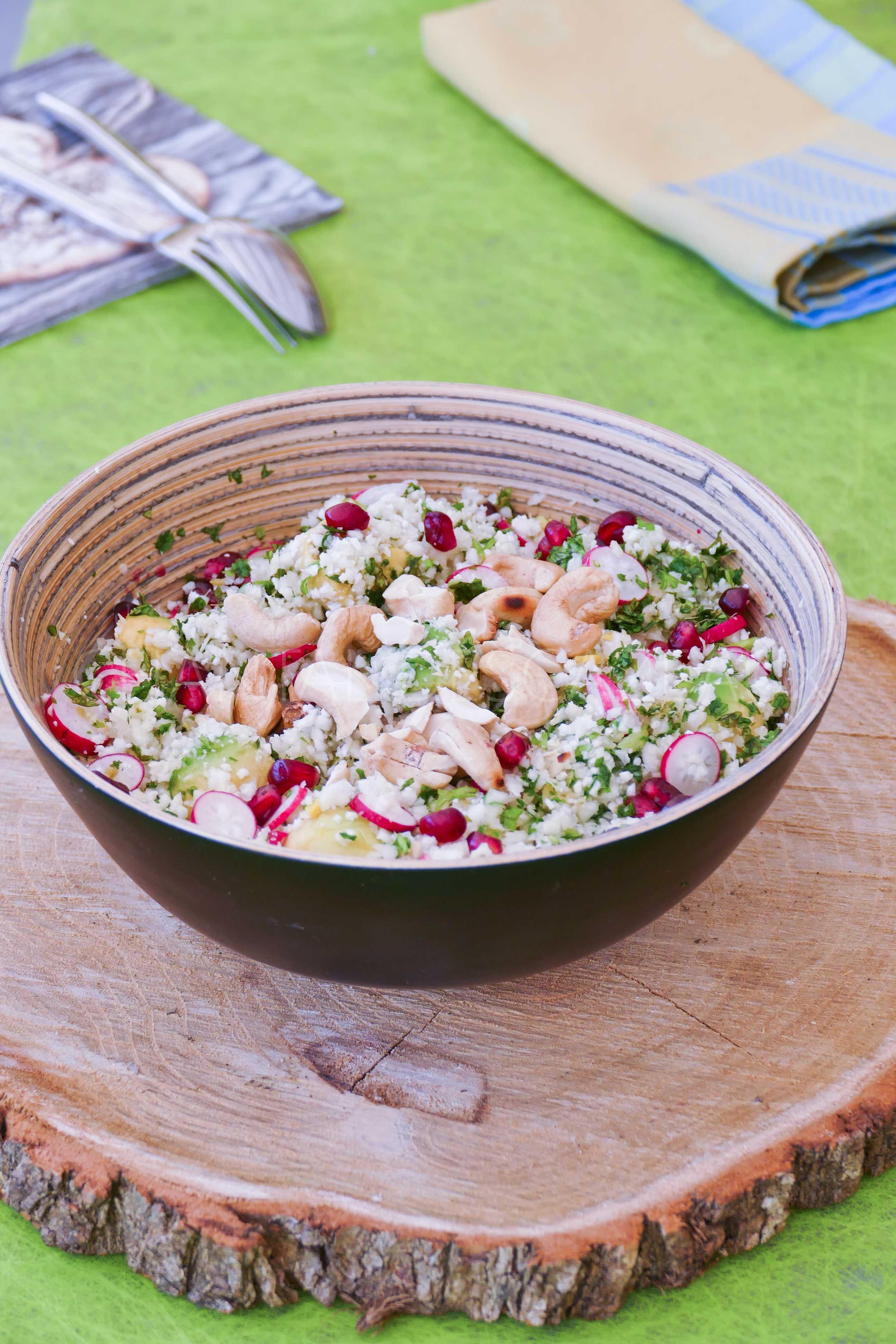 salade d'été - Taboulé sans semoule