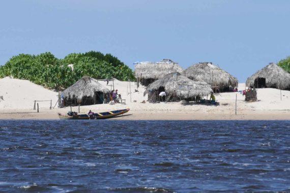 Village Pêcheurs Nordeste Brésil