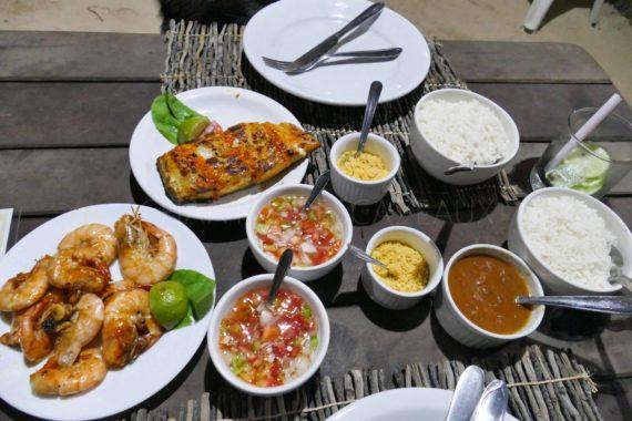 Restaurant Do Rico - Atins - Brésil