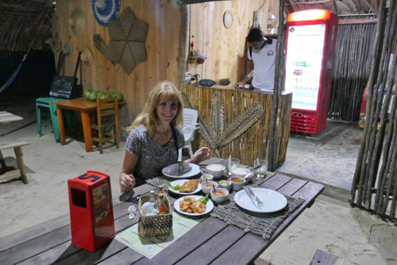Restaurant Atins - Voyage Nordeste Brésil