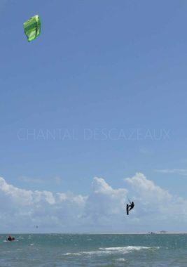 Kyte surf à Atins - Brésil