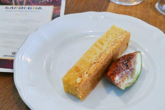 dessert de Sardaigne - gâteau aux amandes
