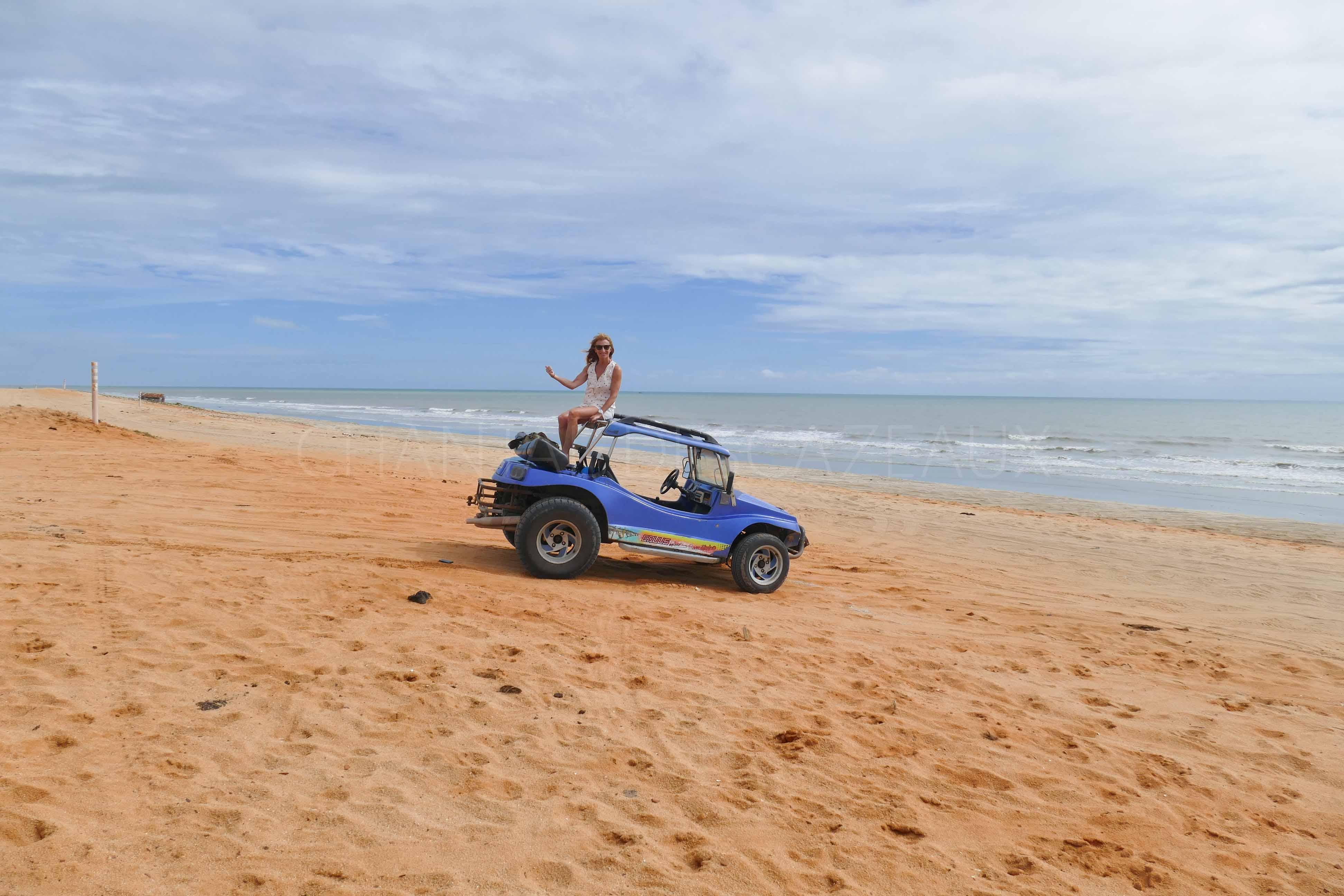 Nordeste du Bresil : Jericoacoara, Fortaleza
