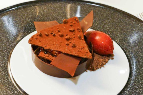 dessert chocolat LaFaurie-Peyraguey
