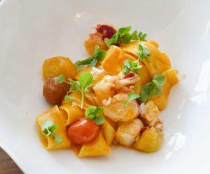 Pâtes fraîches (Tagliatelles ou Papillon) au homard - Giovanni Pireddu - Tentazioni (2ème partie)