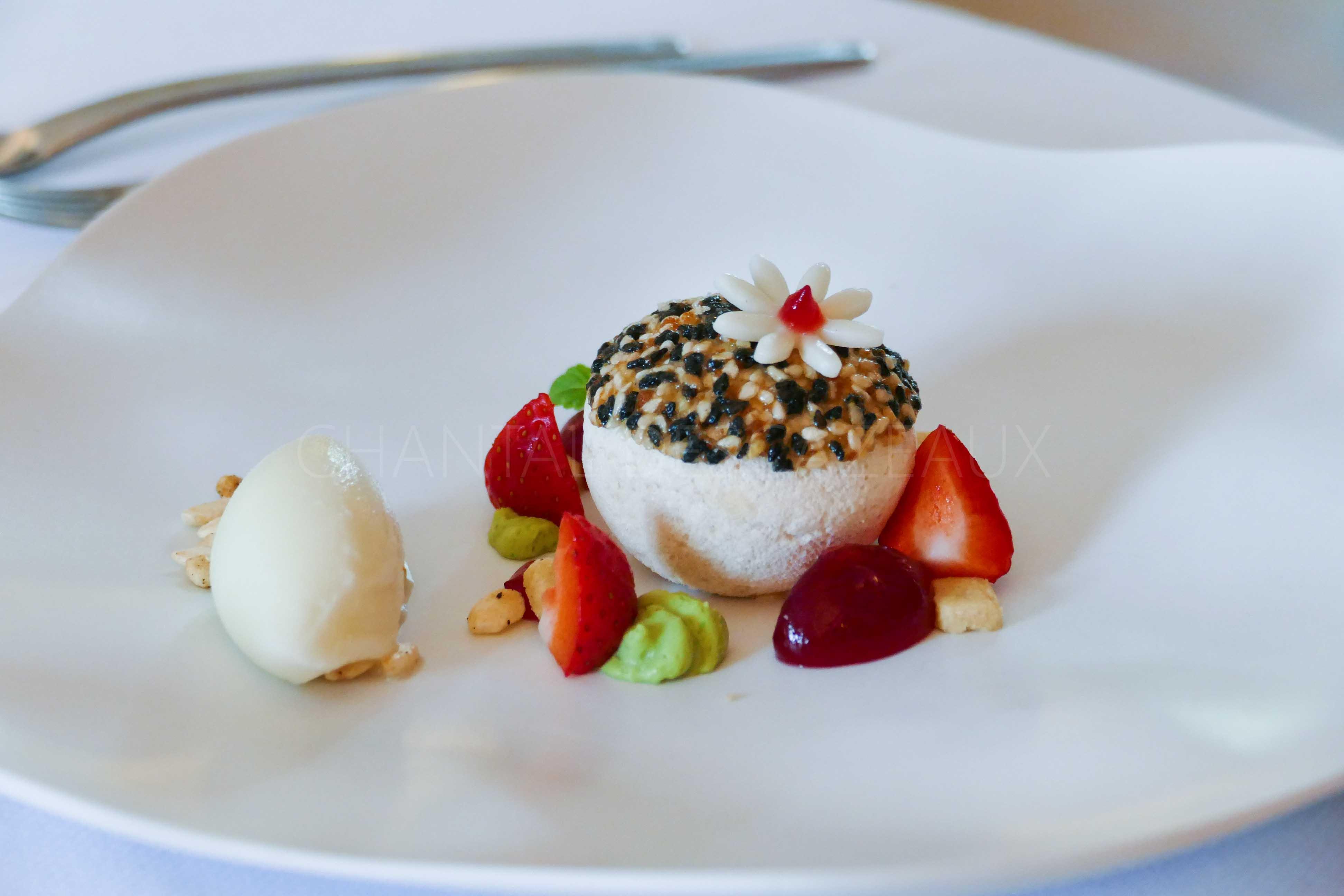 Dessert Manoir de la Boulaie