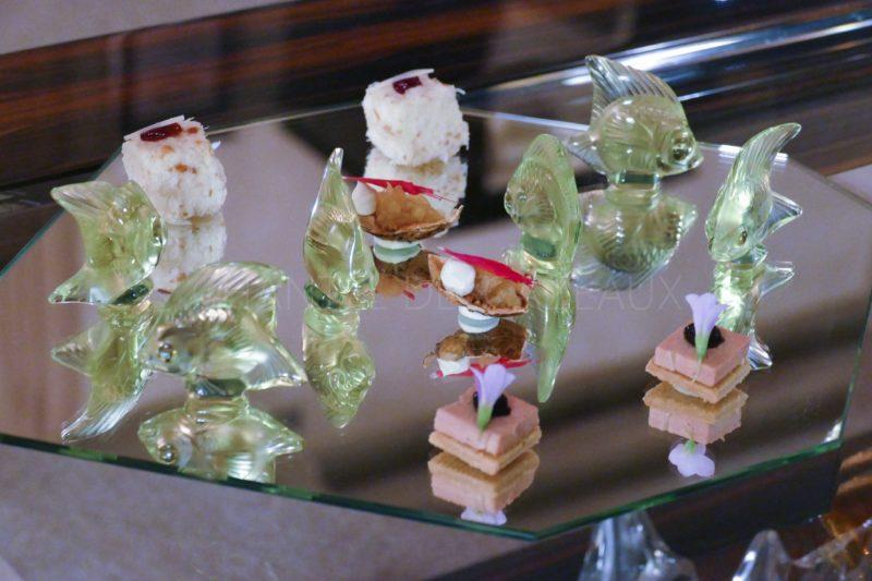 mises en bouche restaurant Lalique